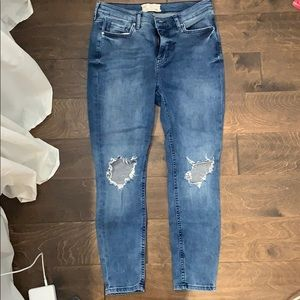 Free people busted skinny